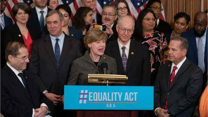 Democrats in Congress just reintroduced a bill that would ban LGBTQ discrimination, and finally, some good news