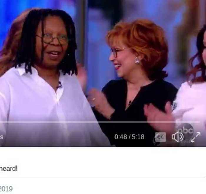 Whoopi Goldberg Returns to 'The View' After Near-Death Sickness