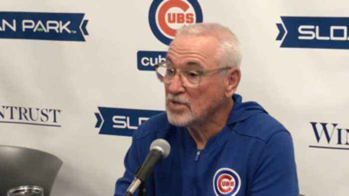 Joe Maddon on MLB rules changes: 'Strategy should be left alone'