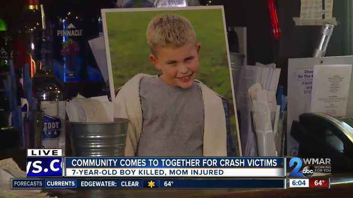 Restaurants team up to help the family of a 7-year-old who was killed in a crash in Bel Air
