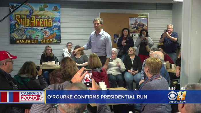 North Texans React To Beto O'Rourke Presidential Run