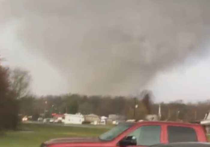 Tornado Rips Through South-west Kentucky