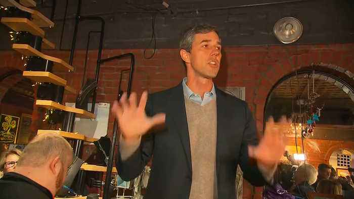 Beto O'Rourke Gives First Stump Speech at Campaign Event in Iowa