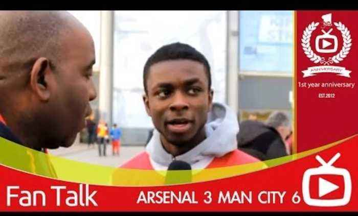 Arsenal 3 Man City 6 - Bad Performance But Were Still Top Of League
