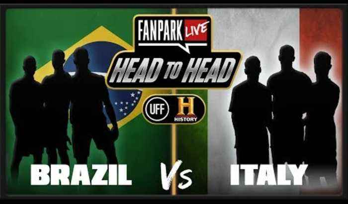 Who Was The Best World Cup Team Brazil or Italy? - FanPark Head To Head With HISTORY