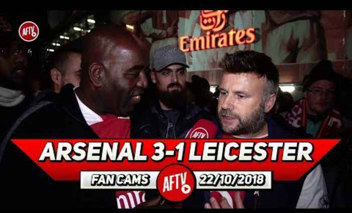 Arsenal 3-1 Leicester City | Aubameyang Is The Perfect Man To Bring Off The Bench!! (Graham)