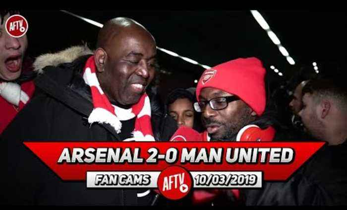 Arsenal 2-0 Man United | Ty Goes In On 'Arrogant' Man United Fans