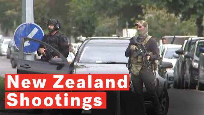 New Zealand Shootings Video Picture: New Zealand Shootings: Multiple Fatalities As
