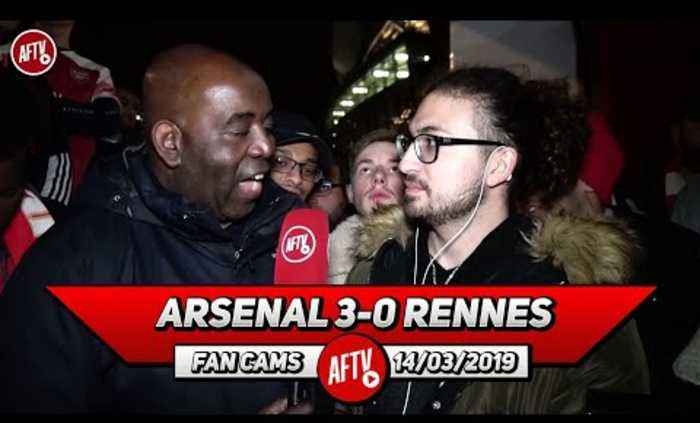 Arsenal 3-0 Rennes | Our Only Competition Now Are Napoli & Chelsea