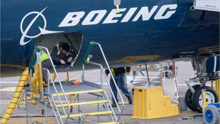 Boeing's Stock Jumps