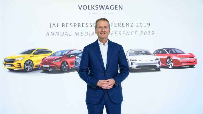 Volkswagen CEO Issues Apology After Appearing To Reference Nazi Slogan