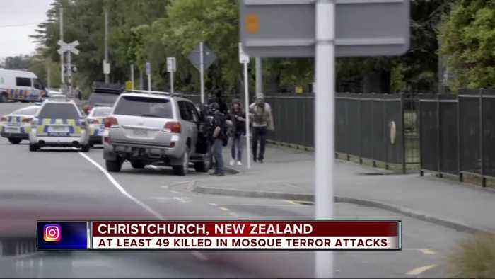 At least 49 dead in Mosque terror attacks in New Zealand