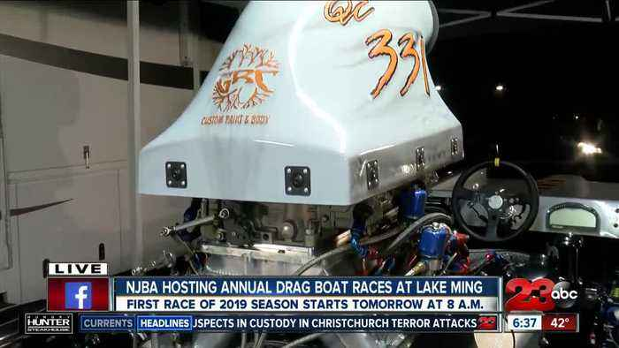 Boat racer looks forward to the NJBA annual drag boat race