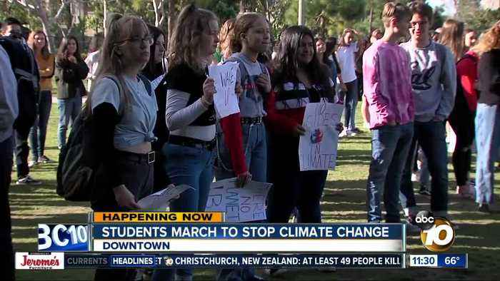 "Local students join the international ""Youth Strike for Climate"""