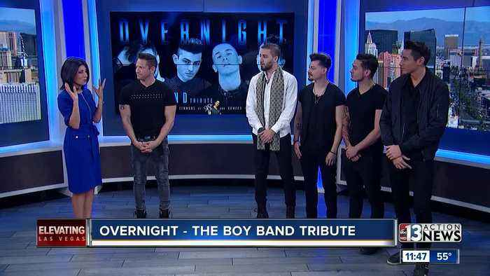 98 Degrees' Jeff Timmons presents Overnnight - The Boy Band Tribute