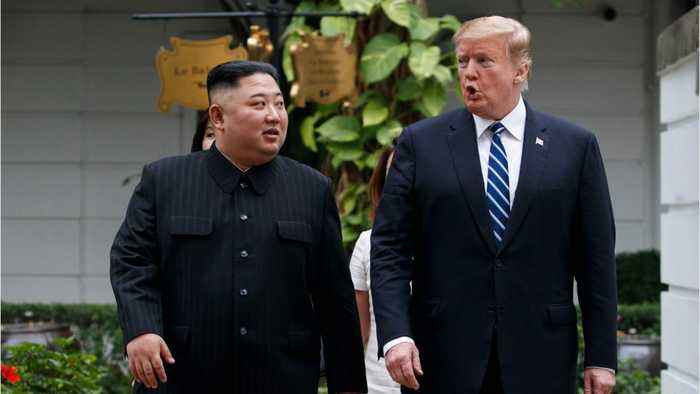North Korea Says They 'Have No Intention' Of Negotiating With President Trump