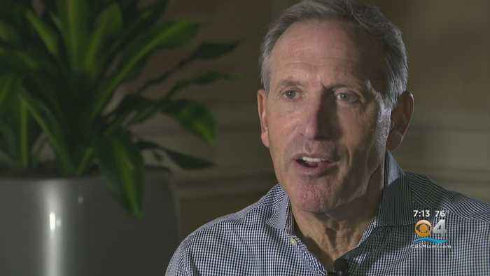 Howard Schultz Talks Presidential Qualifications, South Florida Issues In Interview With CBS4