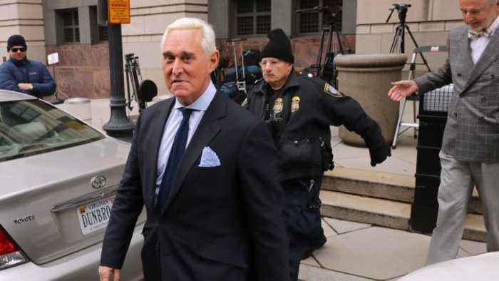 Judge Sets Roger Stone's Court Date