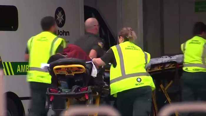 People brought to hospital in New Zealand after reports of shooting in Christchurch