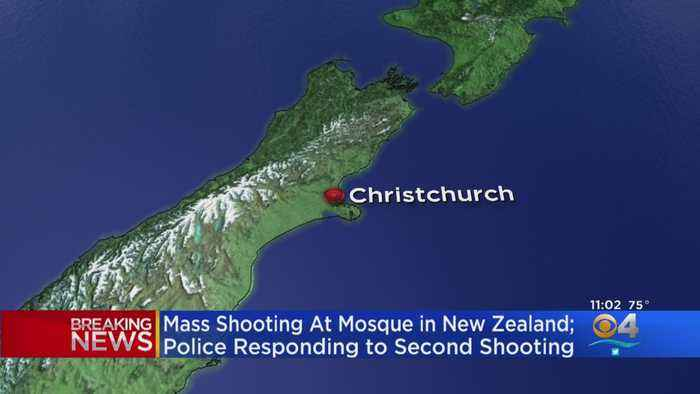 Police Respond To Multiple Shootings In New Zealand