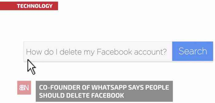 WhatsApp Founder Thinks You Should Delete Facebook
