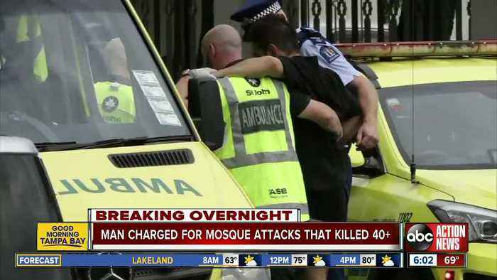 49 killed as gunmen open fire at mosques in New Zealand