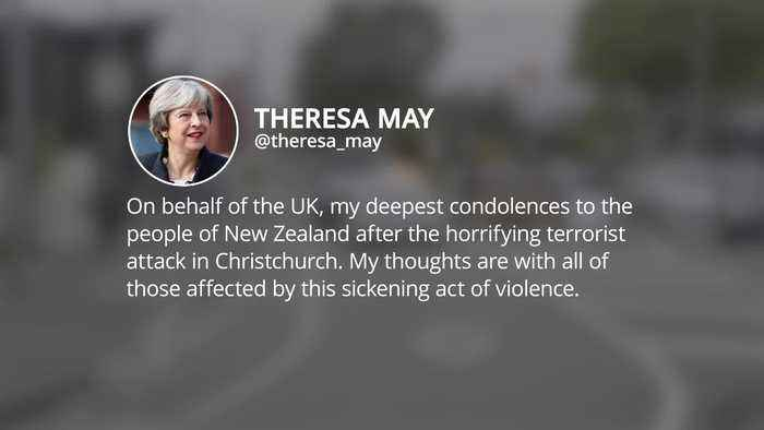Politicians around the world condemn Christchurch terror attack