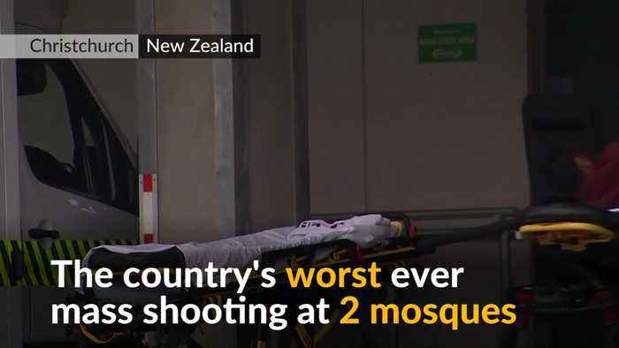 Scores killed in New Zealand mosque shootings