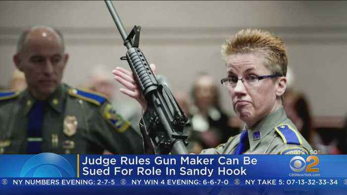 Judge: Gun Maker Can Be Sued For Role In Sandy Hook Shooting