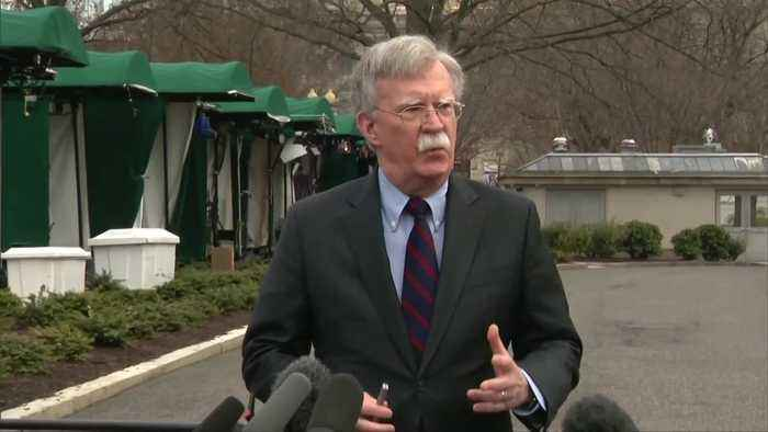 U.S. 'greatly disturbed' by N.Z. shootings: Bolton