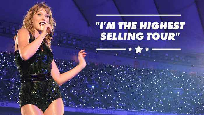 Taylor Swift reminds everyone of how rich she is