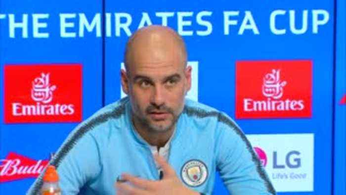 Pep: It's 50/50 against Spurs