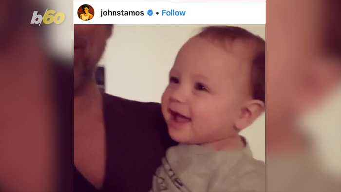 John Stamos Cheers Up 'Full House' Fans with Baby Giggles