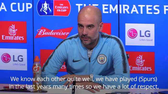 Pep Guardiola: It is a pleasure to play Spurs in Champions League quarter-finals