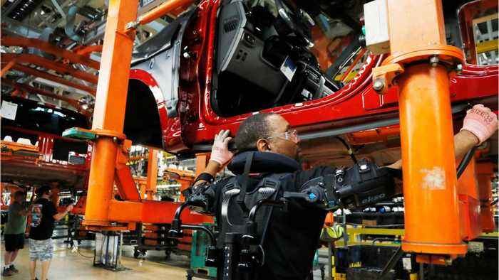 As U.S. Economy Loses Steam The Manufacturing Sector Is Slowing