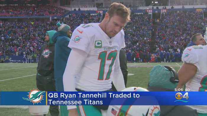 Dolphins Trade Ryan Tannehill