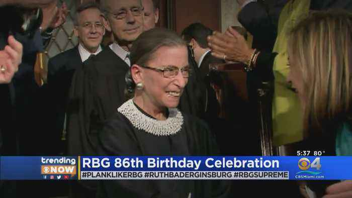 Trending: Supreme Court Justice Turns 86