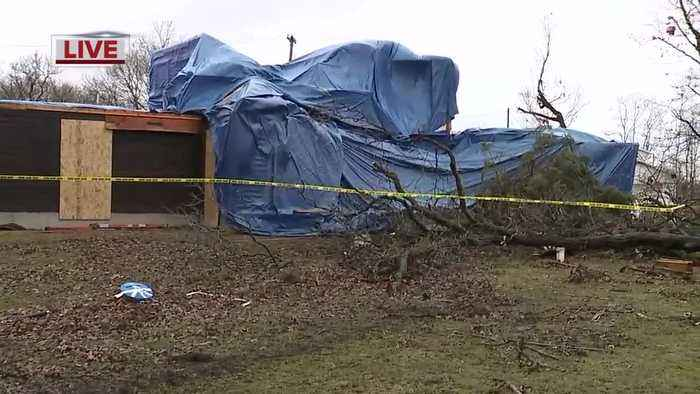 NWS: Tornado in Shiawassee County had EF-2 damage with winds up to 125 mph