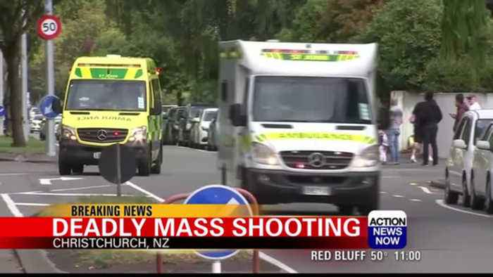 NEW VIDEO: Multiple fatalities after shootings in two mosques in New Zealand