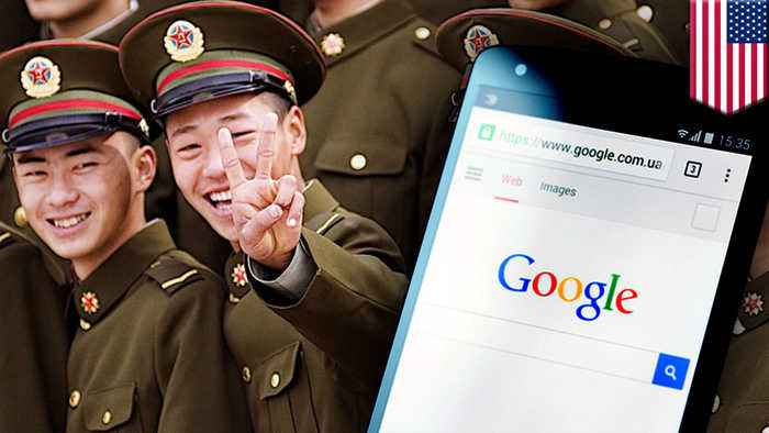 China 'indirectly benefiting' from Google, says US general