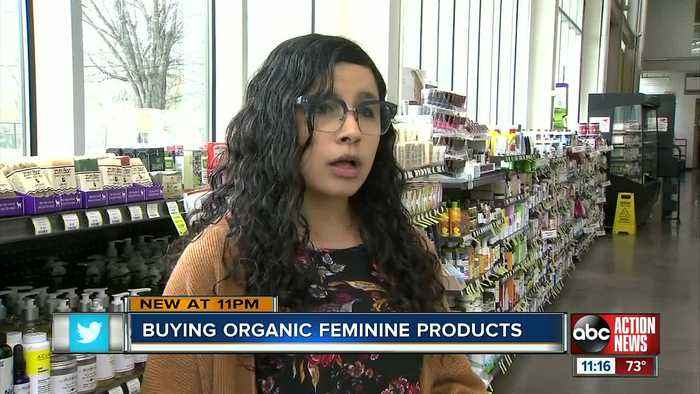 Organic feminine care products are a growing trend