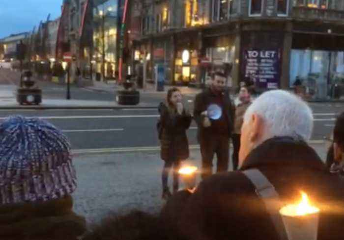 Candlelight Vigil for Christchurch Victims Held in Belfast