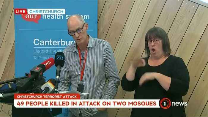 Eleven people still in intensive care following mosque shootings