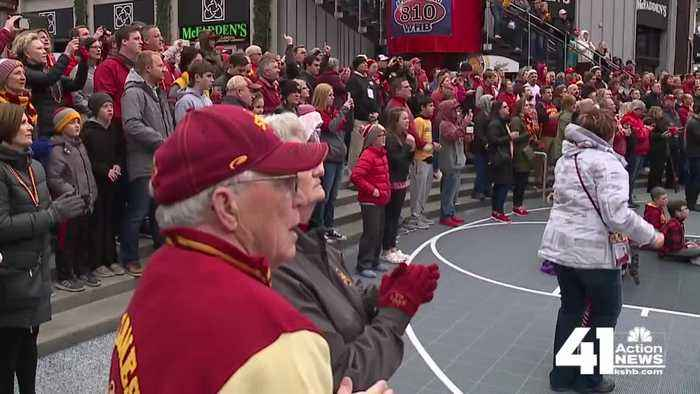 Hilton South? Iowa State fans make their presence known in KC
