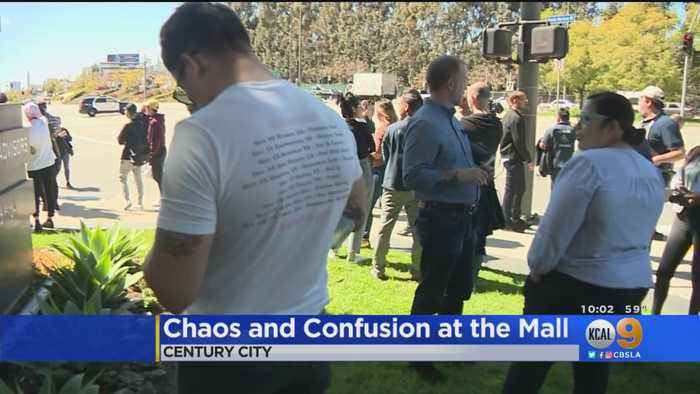Century City Mall Evacuated After False Active Shooter Scare