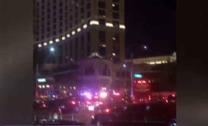 Las Vegas police involved in shooting at Bellagio hotel-casino