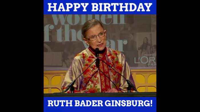 Happy Birthday To The Incredible RBG