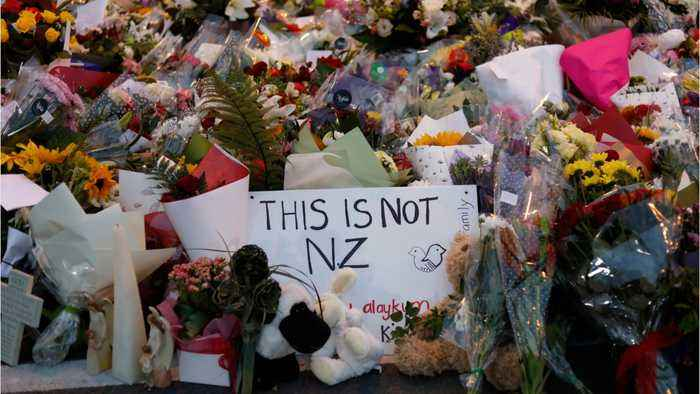 People Around The Gather In Solidarity Following Deadly New Zealand Shootings