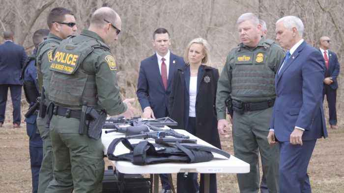 Border Advanced Training Facility Gets A Visit From The VP