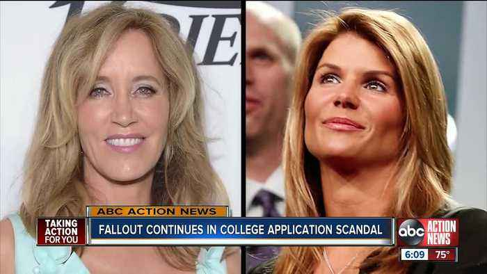 Fallout continues in college application scandal
